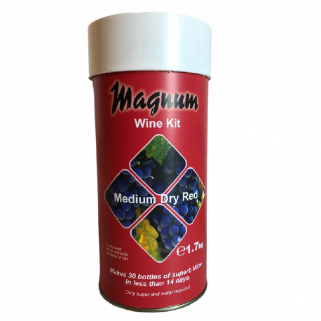 MAGNUM WINE KIT MEDIUM DRY RED